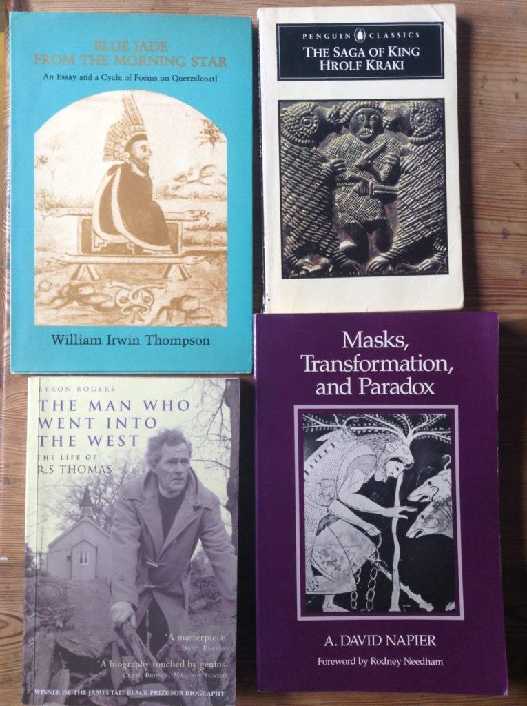 Martin Shaw's books.
