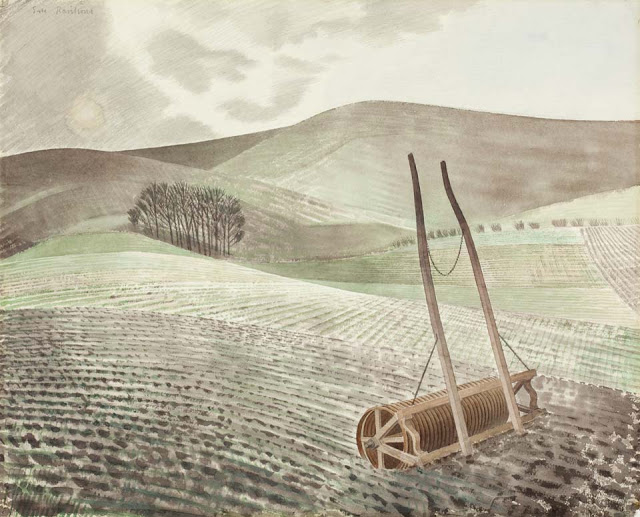 Downs in Winter Ravilious