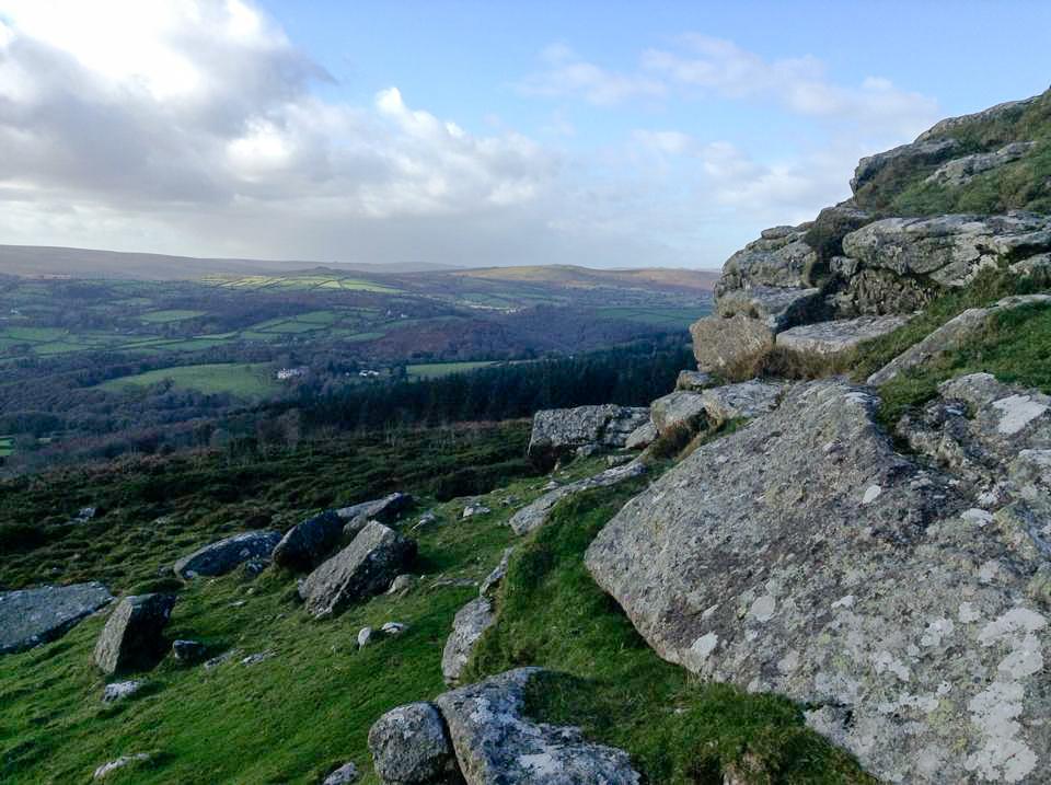 rocky hillside