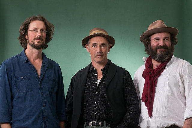 Paul Kingsnort, Mark Rylance, & Martin Shaw at Edinburg International Book Festival 2015