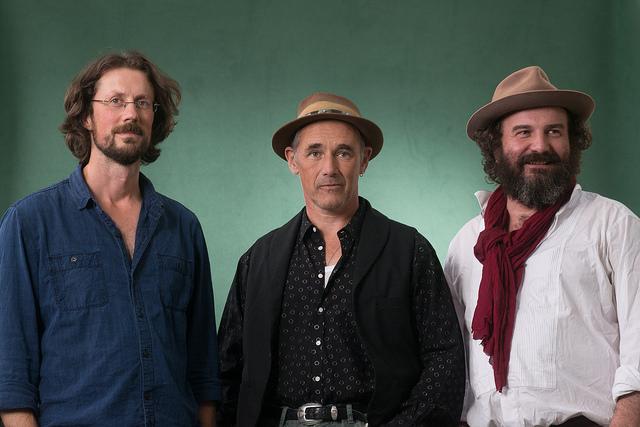 Paul Kingsnort, Mark Rylance, & Martin Shaw at Edinburg International Book Festival 2015