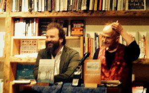 Martin Shaw and Tony Hoagland in New York.