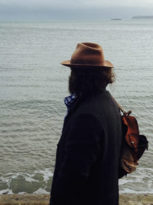 Martin Shaw by the sea