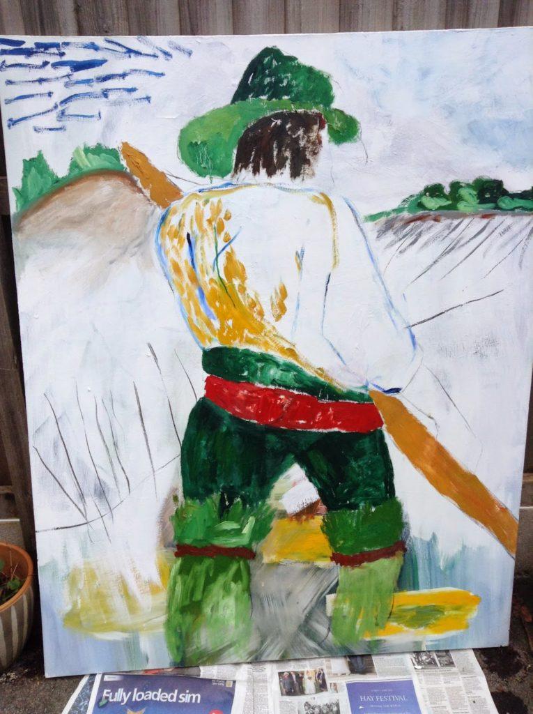 harvest painting full