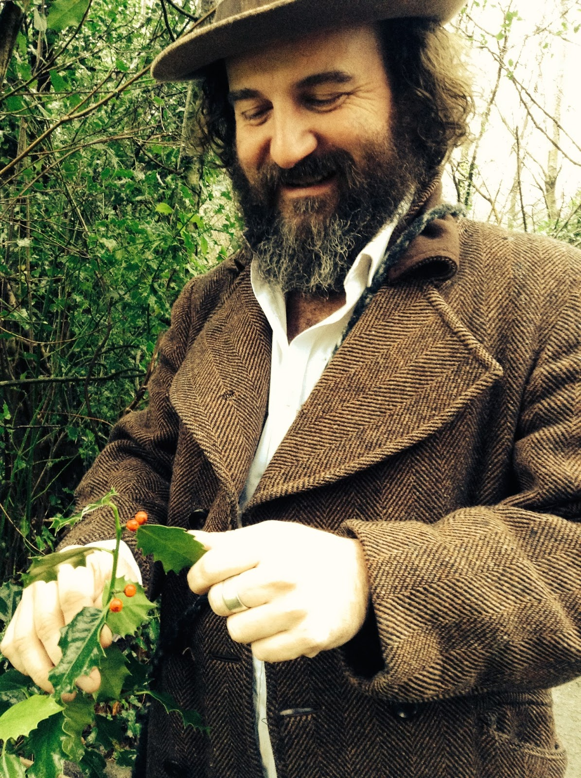 martin shaw holding holly