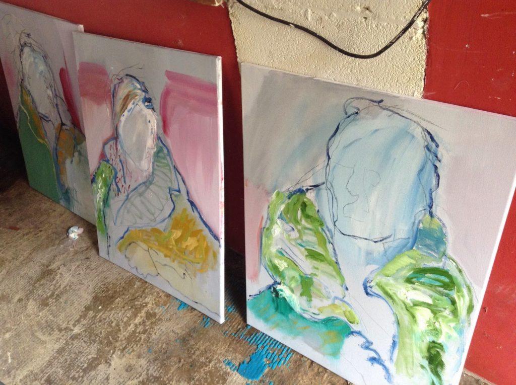 Moo Roa Man paintings