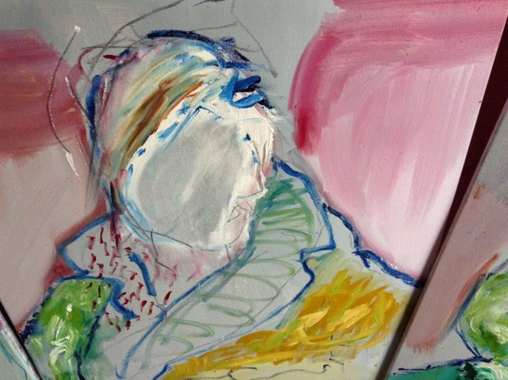 Moo Roa Man painting close