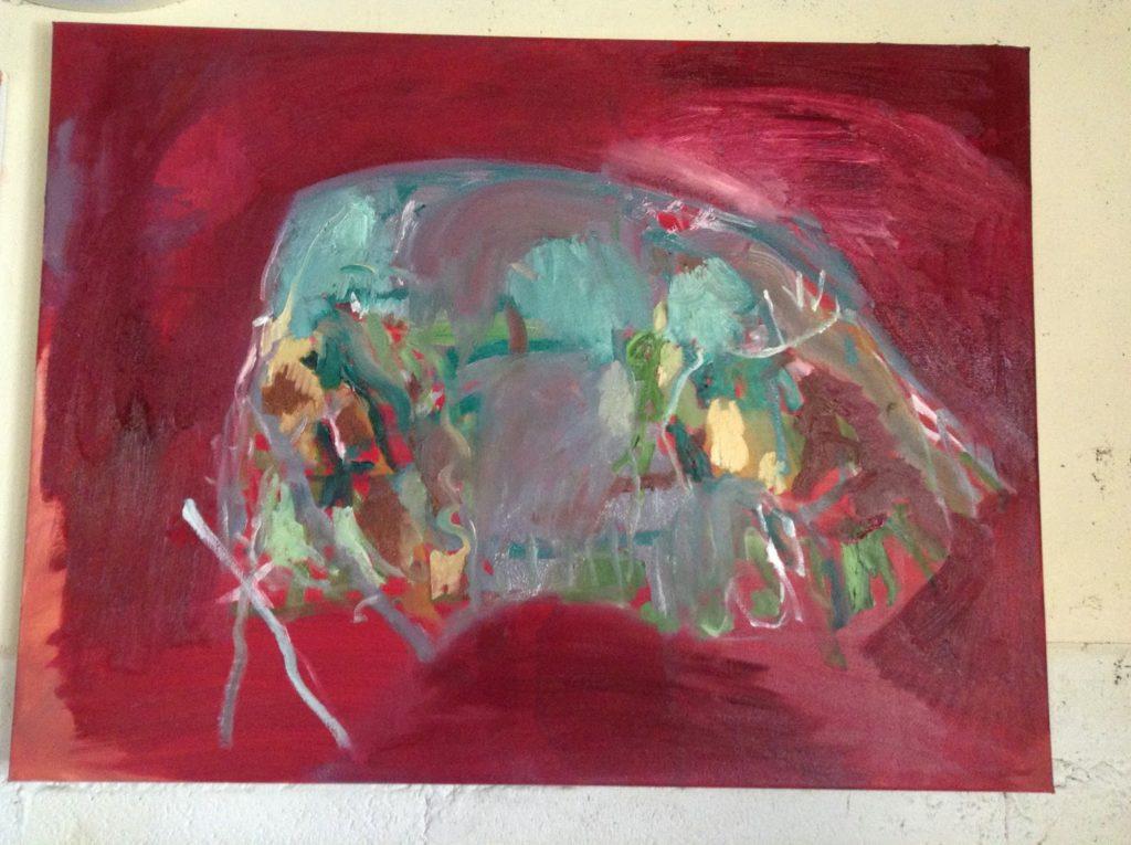 Scarlet Mound painting