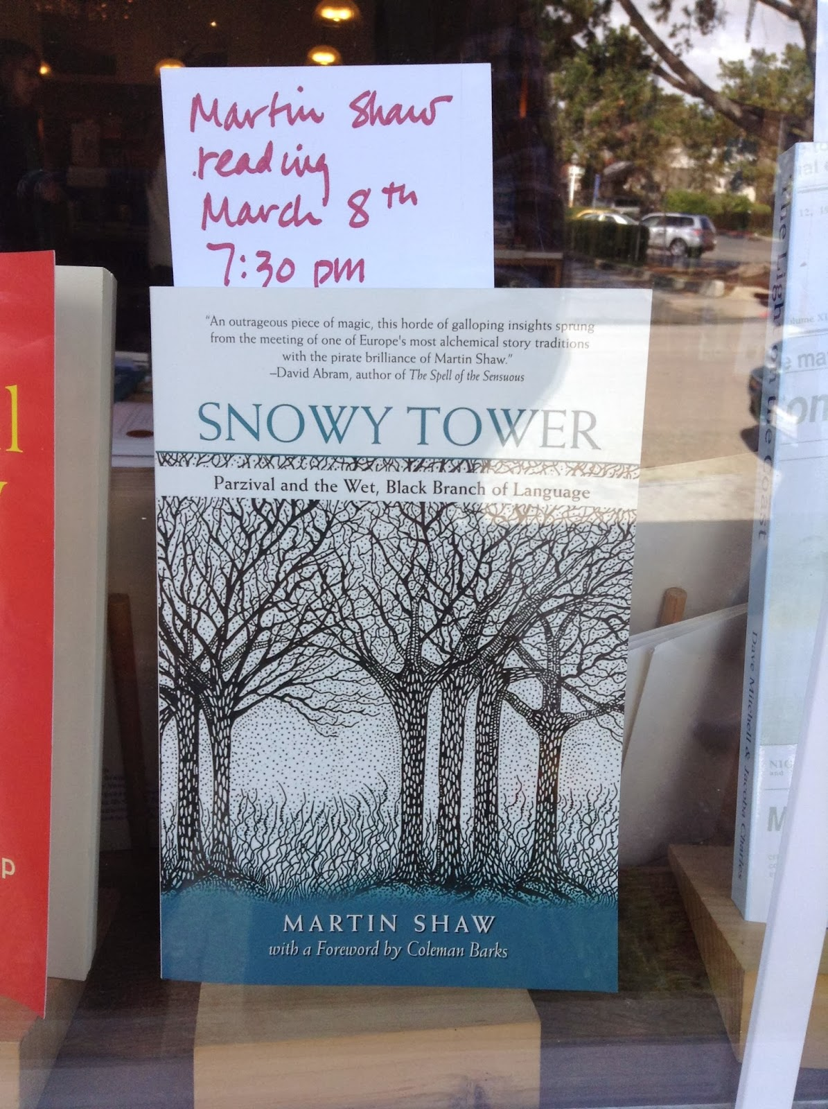 snowy tower book in point reyes