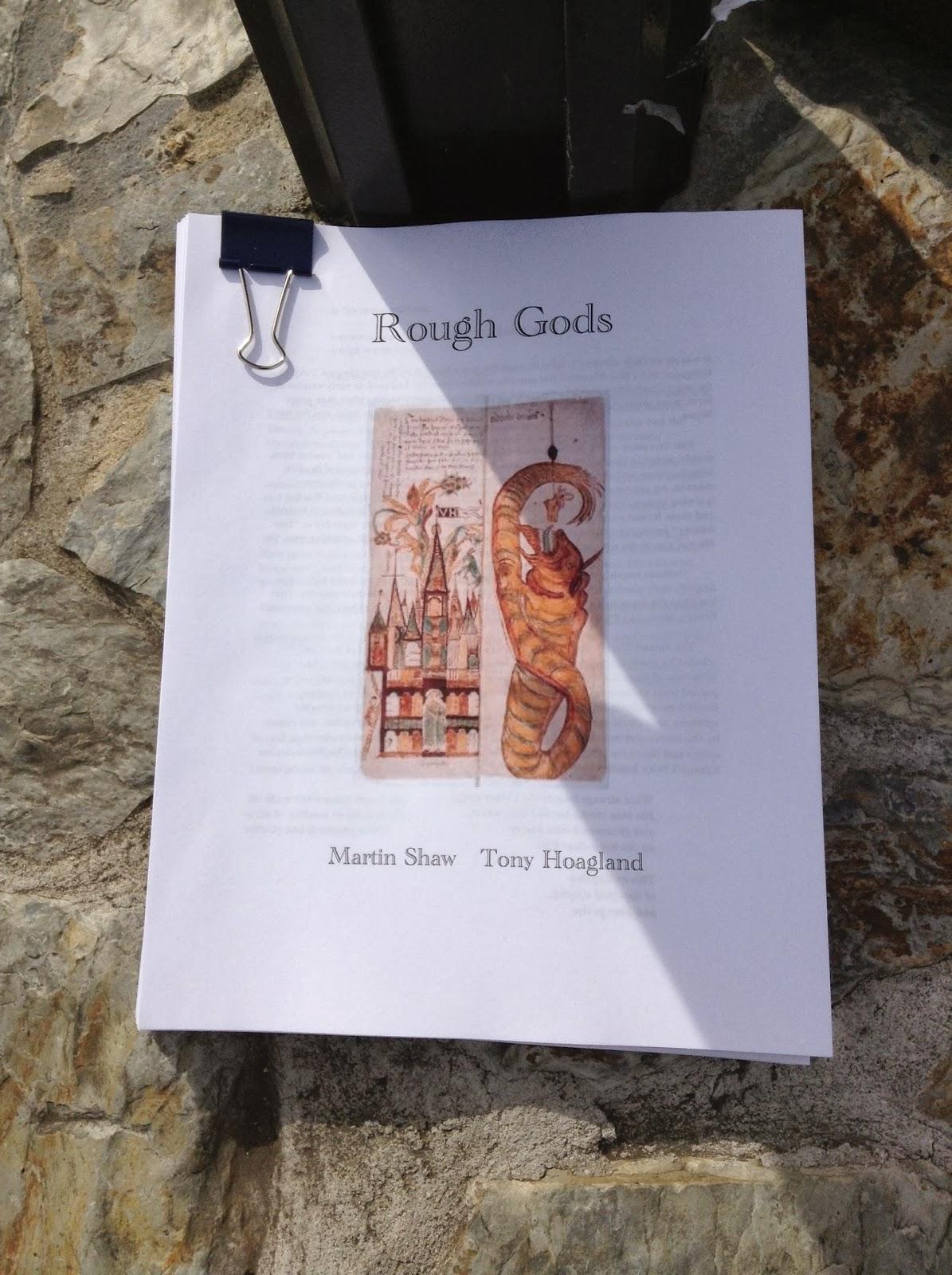 Rough Gods by Martin Shaw and Tony Hoagland