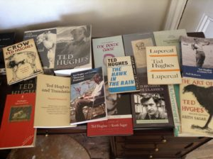 Ted Hughes book collection